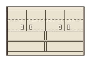 【直送】【代引不可】サカエ(SAKAE) ピットイン上部架台 1200X375 PN-2HMCK