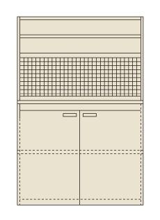 【直送】【代引不可】サカエ(SAKAE) ピットイン 1200X650X2000 PN-H22P