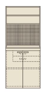 【直送】【代引不可】サカエ(SAKAE) ピットイン 900X650X2000 PN-H94P