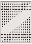 【直送】【代引不可】サカエ(SAKAE) ステンレスパンチングウォールシステム SUS304 585X897 PO-601LSU