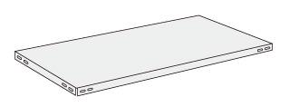 サカエ(SAKAE) ショップラック用オプション棚板 1800X600 パールホワイト SHR-32TAP