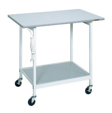 【直送】【代引不可】サカエ(SAKAE) 実験テーブル 900X450X800 抗菌性樹脂天板 SR-094