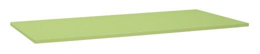 【直送】【代引不可】サカエ(SAKAE) 重量用天板 1500X800 スチール天板 グリーン W-1580STC