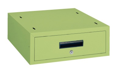 【直送】【代引不可】サカエ(SAKAE) 作業台用キャビネット 500X550X180 アイボリー WKL-1IC
