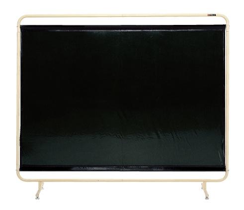 【直送】【代引不可】サカエ(SAKAE) 遮光スクリーン 固定式 1800X1530 ダークグリーン YS-18G
