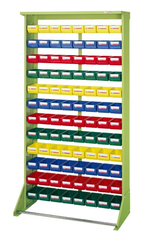 【直送】【代引不可】サカエ(SAKAE) パーツハンガー ボックス付 小96 900X350X1680 Z4-Y