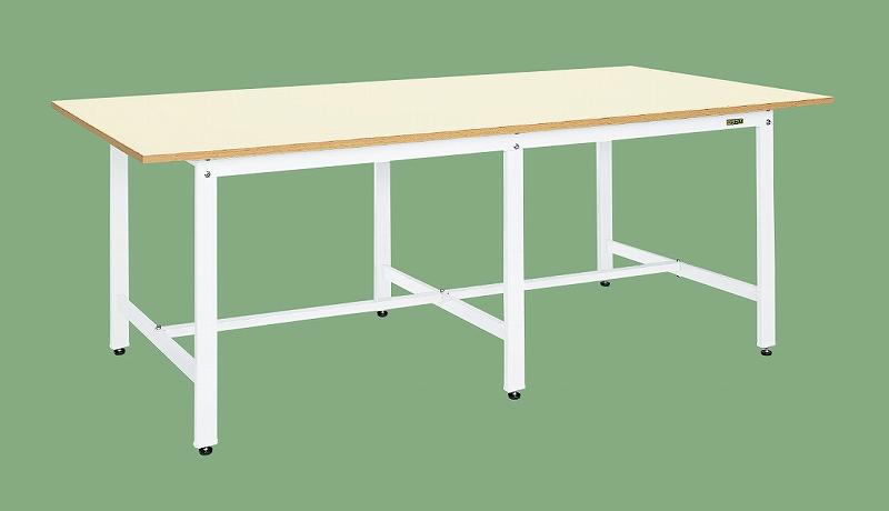 【人気No.1】 サカエ(SAKAE) 店 KKM-2412W:工具屋のプロ 大型作業台(パールホワイト)-DIY・工具