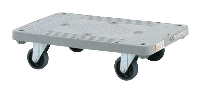 サカエ(SAKAE) 樹脂平台車(4輪自在) MHN-20J