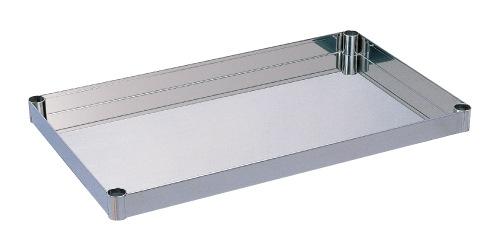 【直送】【代引不可】サカエ(SAKAE) ステンレスニューパールワゴン用オプション棚板 PK4-1SU