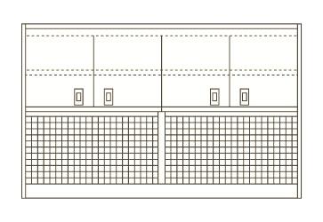【直送】【代引不可】サカエ(SAKAE) ピットイン(架台) PN-8HMPCKW