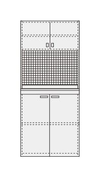 【直送】【代引不可】サカエ(SAKAE) ピットイン PN-H92PDW