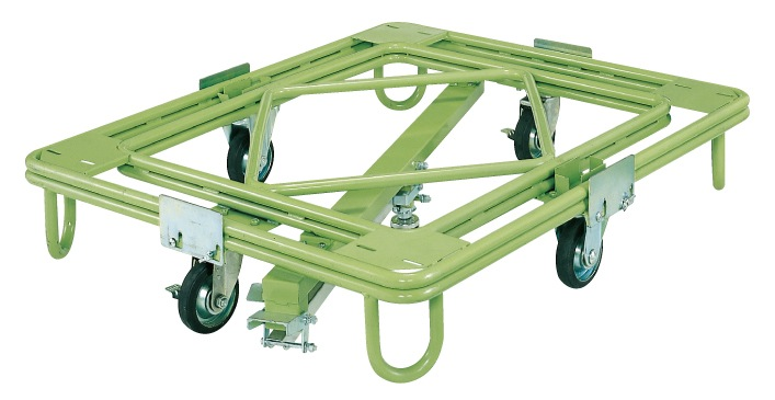 2019激安通販 【直送】【】サカエ(SAKAE) 自在移動回転台車(重量型・センターベース付) RC-5KG:工具屋のプロ 店-DIY・工具
