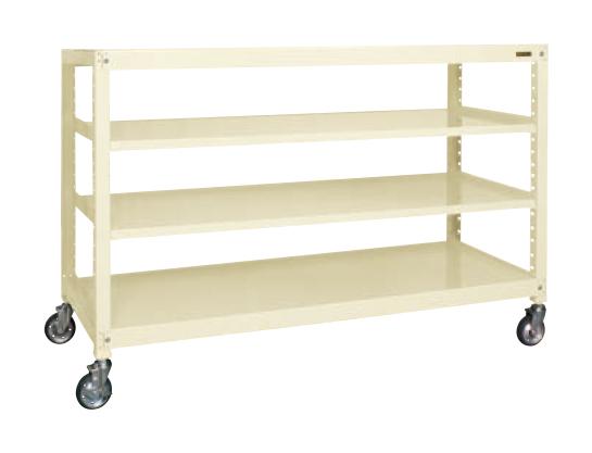 【限定価格セール!】 キャスターラックRK型(ゴム車) 【直送】【】サカエ(SAKAE) RKCN-8654I:工具屋のプロ 店-DIY・工具