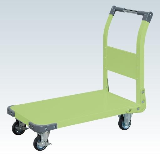 【直送】【代引不可】サカエ(SAKAE) 特製四輪車(固定ハンドルタイプ) TAN-22