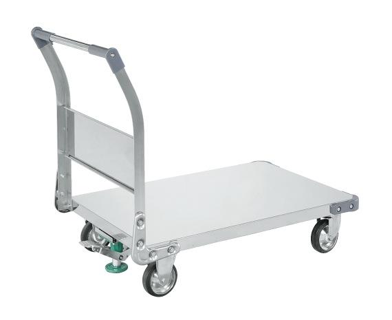 超人気高品質 TAN-55FSU:工具屋のプロ 店 ステンレス特製四輪車(SUS304) 【直送】【】サカエ(SAKAE)-DIY・工具