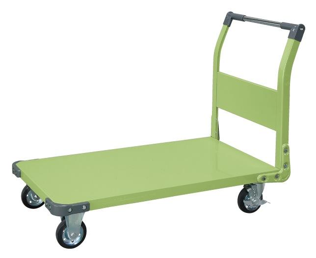 【直送】【代引不可】サカエ(SAKAE) 特製四輪車(固定ハンドルタイプ) TAN-66