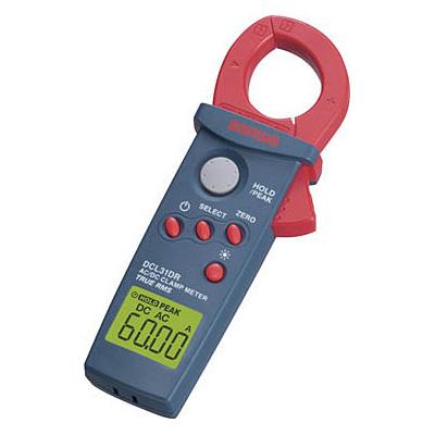 三和電気計器 DC/AC両用+真の実効値 クランプメータ DCL31DR