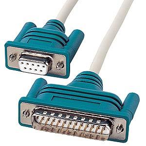 激安卸販売新品 新商品 サンワサプライ RS-232Cケーブル クロス KR-XD2 2m