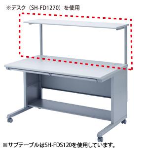 【直送】【代引不可】サンワサプライ サブテーブル SH-FDS100