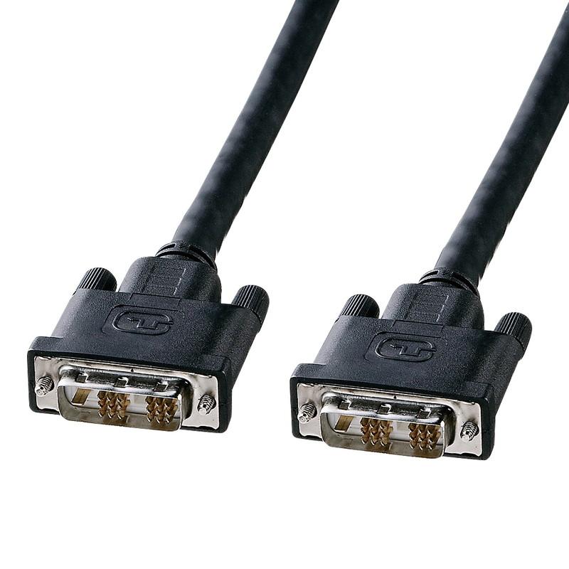 決算SALE [正規販売店] 9月20日 25日はP5倍 KC-DVI-100G 輸入 サンワサプライ DVIシングルリンクケーブル