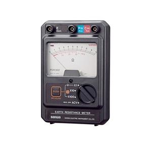 三和電気計器 アナログ接地抵抗計 PDR302