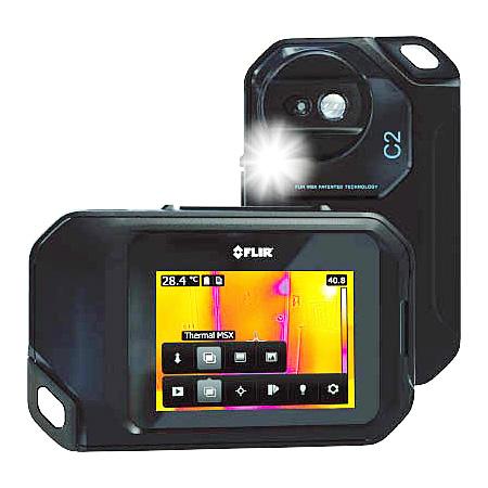 FLIR(フリアーシステムズ) コンパクトサーモグラフィカメラ C2