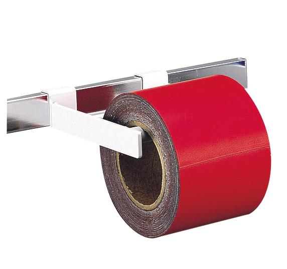 シンワ測定 マグシート つやなし 10cm×10m0.8mm厚 赤ロール 74015