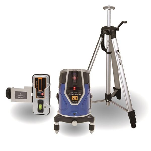 シンワ測定 レーザーロボNeo E Sensor 21 受光器・三脚セット 71512