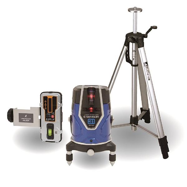 シンワ測定 レーザーロボNeo E Sensor 31 受光器・三脚セット 71513