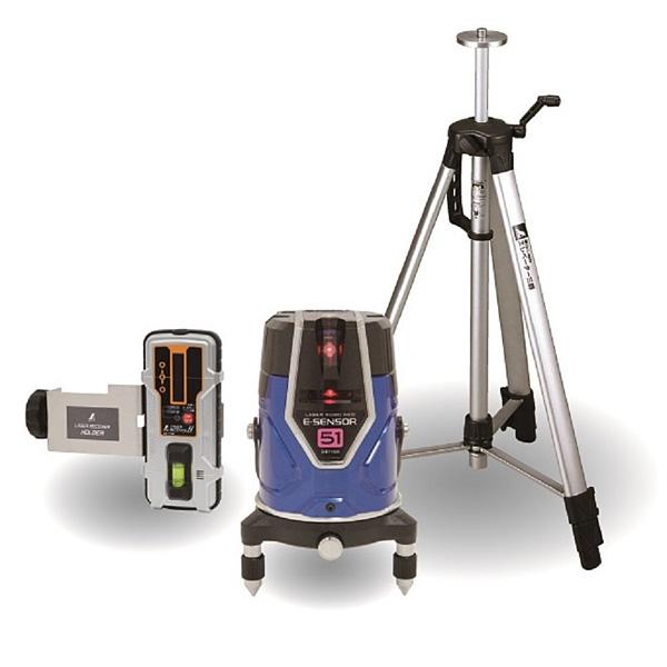 シンワ測定 レーザーロボNeo E Sensor 51 受光器・三脚セット 71515