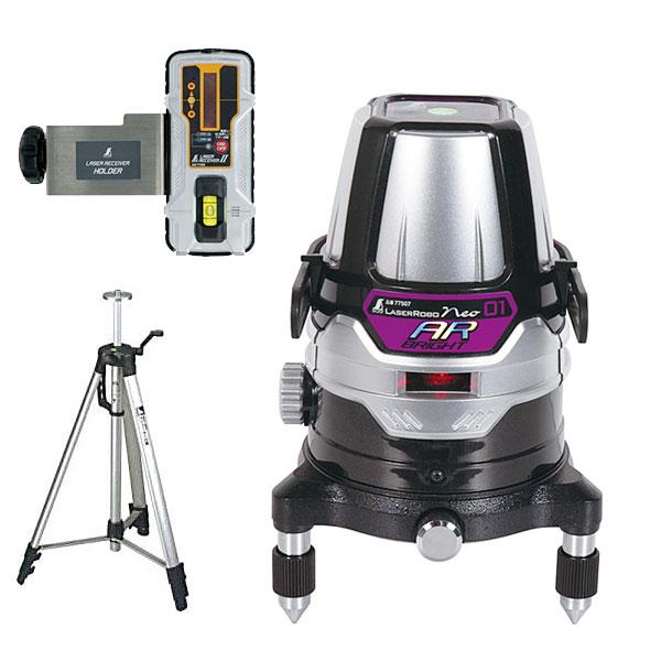最新人気 受光器・三脚セット BRIGHT シンワ測定 店 78218:工具屋のプロ レーザーロボNeo21AR-DIY・工具