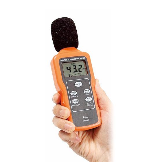 シンワ測定 デジタル騒音計 最高値ホールド機能付 78588