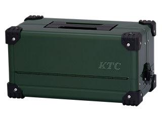 【SK19】KTC(京都機械工具) 両開きメタルケース ディープグリーン EK-10ADGR