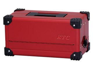 【SK19】KTC(京都機械工具) 両開きメタルケース パールレッド EK-10APR