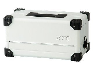 【SK20】KTC(京都機械工具) 両開きメタルケース ホワイト EK-10AWH