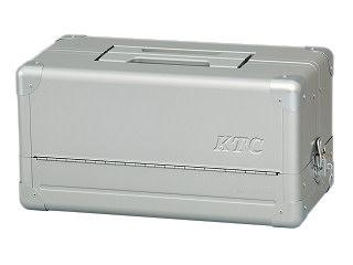 【SK19】KTC(京都機械工具) 両開きメタルケース メタリックシルバー EK-1A