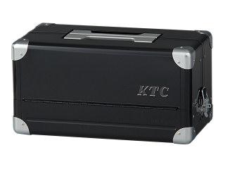 【SK19】KTC(京都機械工具) 両開きメタルケース ブラック EK-1AGBK