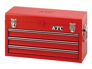 【SK19】KTC(京都機械工具) チェスト 3段3引出し レッド SKX0213