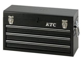 【SK19】KTC(京都機械工具) チェスト 3段3引出し ブラック SKX0213BK
