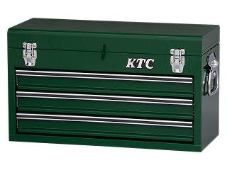 【SK19】KTC(京都機械工具) チェスト 3段3引出し グリーン SKX0213GR
