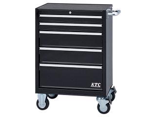 【直送・代引不可】【SK19】KTC(京都機械工具) ローラーキャビネット ブラック SKX3805BK