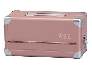 【SK20】KTC(京都機械工具) 両開きメタルケース ローズゴールド×シルバー EK-1ARG