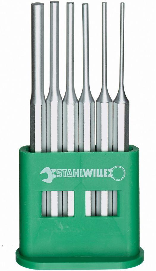 STAHLWILLE(スタビレー) 平行ピンポンチセット スタンド付 6本組 108/6D