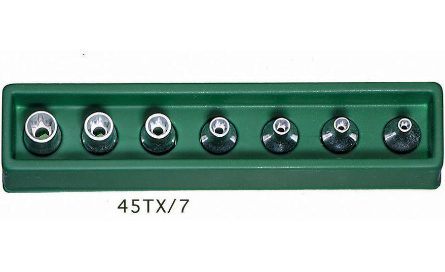 STAHLWILLE(スタビレー) 3/8SQヘクスローブソケットセット 7個組 45TX/7