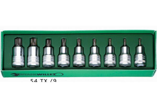 STAHLWILLE(スタビレー) 1/2SQヘクスローブソケットセット 9個組 54TX/9