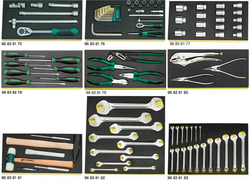 STAHLWILLE(スタビレー) 工具セット 98個組 806/9TCS