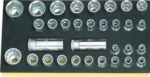 最も  96838191:工具屋のプロ TCS STAHLWILLE(スタビレー) ソケットセット 店 50/51/52/32-DIY・工具