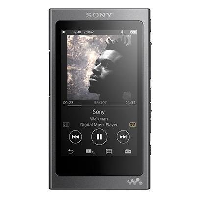 ソニー SONY NW-A35HN B [メモリーオーディオ WALKMAN(ウォークマン) A30シリーズ 16GB チャコールブラック ヘッドホンh.ear in同梱 ハイレゾ音源対応]※基本送料無料(沖縄・離島別)