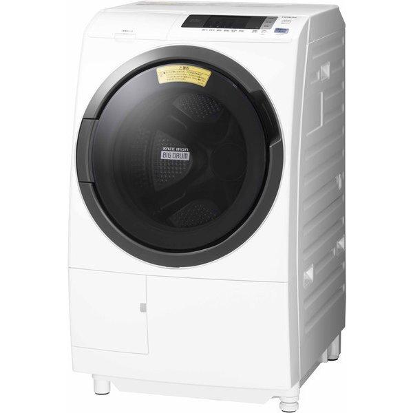日立 HITACHI BD-SG100CL W [ドラム式洗濯乾燥機 ビッグドラム 10kg 左開き ホワイト]※基本配送料無料(沖縄・離島別)