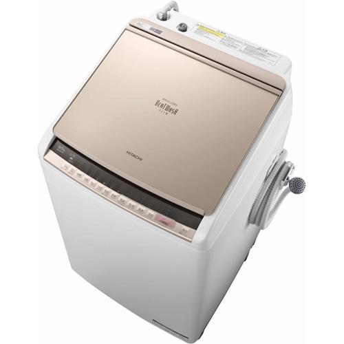日立 HITACHI BW-DV90C N [ビートウォッシュ タテ型洗濯乾燥機 (9kg) シャンパン]※基本配送料無料(沖縄・離島別)